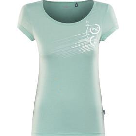 Kaikkialla Tytti Drirelease SS Shirt Dame light blue